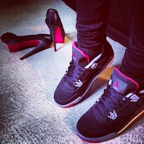 Red Bottoms vrs. Bred 4s Baby you own my heart